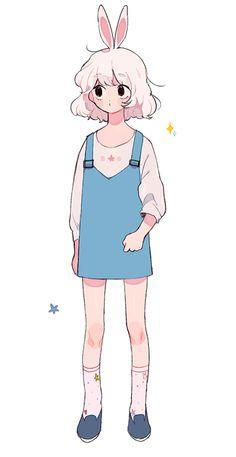 I drawed My friend's oc Oh man i'm really terrible at drawing ^_^ Anime Drawings Sketches, Cool Art Drawings, Kawaii Drawings, Cute Art Styles, Cartoon Art Styles, Anime Chibi, Anime Art, Arte Sketchbook, Kawaii Art