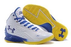 quality design bdfd9 c5476 Under Armour Golf Shoes For Sale Uk, Under Armour Stephen Curry 1 Herr  Royal Gul Vit