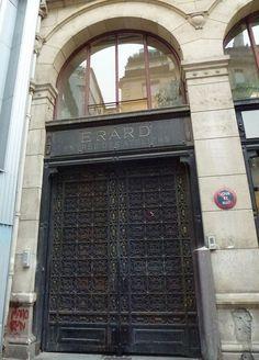 Paris 2e - 23 rue du Mail - La Manufacture de piano Erard