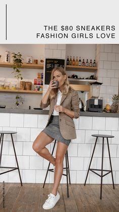 The sneakers fashion girls love