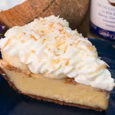 Everyone loves a good coconut cream pie--it's a classic! Why not put a twist on that classic with this truly s...