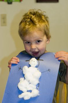 Mommy Lessons 101: S is for Snowman