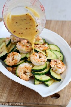 Shrimp & Zucchini #Stirfry. Healthy and delicious dinner option!
