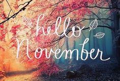 Første dag i November er snart over Håper November blir en fin måned  God natt alle sammen