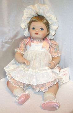 Vintage Doll The Hamilton Collection Jessica 1989 by wynnsantiques