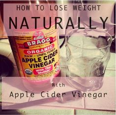 Apple Cider Vinegar Help with Weight Loss