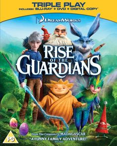 Rise of the Guardians (Two-Disc Combo: Blu-ray/DVD/Digital Copy +UltraViolet) Blu-ray Rise Of The Guardians, Rent Movies, Movies Online, Disney Movies, Madagascar 3, The Guardian Movie, Isla Fisher, Family Humor, Historia