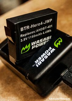 wasabi gopro 4 battery