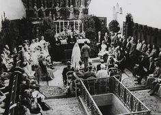 Royal Wedding between Prince Gustav Adolf of Sweden and Princess Sibylla of SaxeCoburgGotha in the main church St Moritz Coburg 20 Oktober 1932...