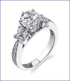 Gregorio 18K WG Diamond Engagement Ring R-410