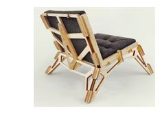 C plywood chair
