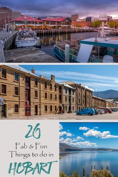 Find 20 fun things to do in Hobart in our guide plus where to eat, stay and play in the city. Visit Australia, Australia Travel, Western Australia, Queensland Australia, Brisbane Queensland, Perth, Tasmania Road Trip, Tasmania Travel, Cool Places To Visit