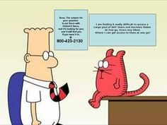 Catbert : I am really finding it difficult to access a Large pool of SAP users and Decision makers At One go ?    Dilbert : Boss, The answer for your question is out there with Global It Users and it's looking for you, and it will find you if you want it to at. Boss, Finding Yourself, This Or That Questions, Marketing