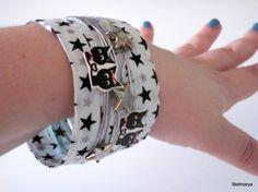10 GIFTSOFF10Woman braceleteco friendlygray di Stelmarya su Etsy, €15.00