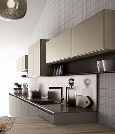 Minimal Kitchen, Smart Kitchen, Kitchen Sets, Kitchen Dining, Kitchen Decor, Küchen Design, House Design, Interior Design Kitchen, Home Kitchens