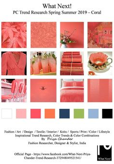Rainbow Connection: Pantone Color Trends Spring/Summer 2019 (part Paleta Pantone, Coral Pantone, Pantone Color, Coral Fashion, Colorful Fashion, 50 Fashion, Sport Fashion, Fashion Styles, Fashion Boots