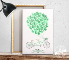 Eure Hochzeitsgäste können sich auf dem Tandem Bild mit ihrer Unterschrift oder einer kleinen Botschaft für euch verewigen. Die perfekte Hochzeitserinnerung