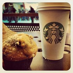Muffin de Navidad de #Starbucks #Coffee #Cafe