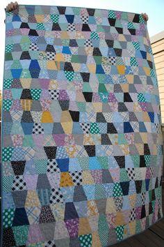 Quilt it Block Quilt, Patch Quilt, Tumbler Quilt, Postage Stamp Quilt, Scrap Busters, Charm Quilt, Half Square Triangles, Patchwork Patterns, English Paper Piecing