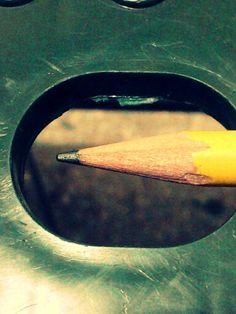 El lapiz la herramienta de todo diseñador, arquitecto y artista plástico
