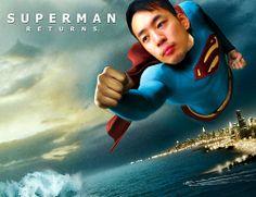 私のスーパーマンです