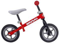 Bicicleta fara pedale are rol pedagogic, fara ajutor, copilul invata sa isi mentina echilibrul pe doua roti.O data cu rutina pe bicicleta fara pedale, trece neobservat la bicicleta traditionala cu pedale. Tricycle, Toy Story