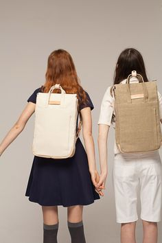 Winter Sale: up to 40% off   Handle Backpack Off-White