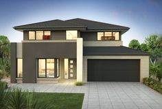 Clarendon Home Designs: Sherwood 35 - Facade Option 3. Visit www.localbuilders.com.au/builders_nsw.htm to find your ideal home design in New South Wales