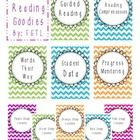 This pack includes:  Cover pages for Guided Reading Comprehension Words their way Writing Progress Monitoring Student Data Groups (5) Lesson Plans ...