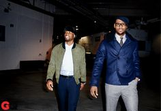 "GQ Magazine rated the most stylish players currently in the NBA. It has recently become ""cool"" to be very in tune with fashion as a professional athlete. Whether that is the NBA or the NFL, many of the star athletes are appearing in magazines like GQ, showing us the interest they have in fashion. Fans and followers of these sports stars are going to want to emulate these stars, becoming more in tune with fashion and opening up the fashion industry to a wider range of consumers. --Brett"