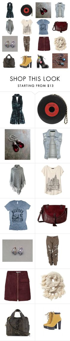 """Style #5"" by annacullart ❤ liked on Polyvore featuring Topshop, Chanel, Banana Republic, Madden Girl, Athleta, AX Paris, MyStyle and fashionset"