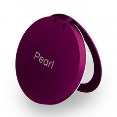 f2b0ff5e61d Pearl  Compact Mirror + USB Battery Pack 3000mAh