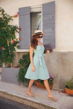 Boden New British Riviera Dress | Summer Wardrobe Inspiration from The Londoner | @rosietonline