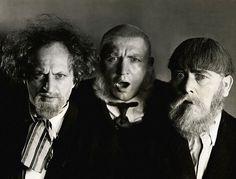 Larry, Curly & Moe.