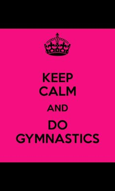 I posted this cause I love gymnastics