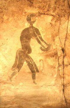 Fresque de Tassili, Algérie