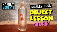 Really Cool Object Lesson- Obeying KidzMatter Kids Church Lessons, Kids Sunday School Lessons, Bible Lessons For Kids, Sunday School Crafts, Bible For Kids, Children Church, Lds Object Lessons, Youth Bible Study, Childrens Sermons