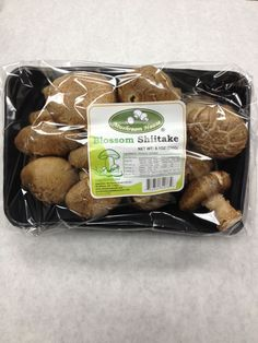 Fresh Shiitake Mushrooms Retail