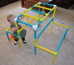 Our granddaughter loves her jungle gym!