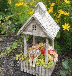 Fairy Garden Supplies. Fairy Garden Miniature Planter Cottage. $9.99
