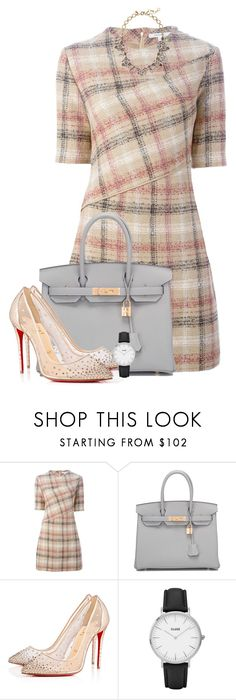 """Will we ever learn?"" by alinka-happily ❤ liked on Polyvore featuring Carven, Hermès, Christian Louboutin, CLUSE and J.Crew"
