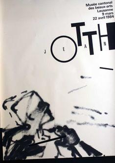 Werner Jeker – Jean Otth, Musée Cantonal des Beaux-Arts Lausanne, 1984