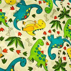 Dinosuars Green Blue 150cm - Cotton Prints - Craft - Fabric