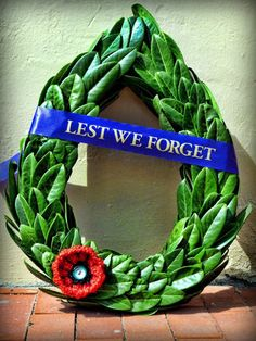 A Community Tribute of Respect and Remembrance Remembrance Day Poppy, Anzac Day, Lest We Forget, Gods Grace, South Australia, Military History, Grapevine Wreath, Poppies, America