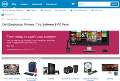 Save 10% on select electronics and accessories at Dell with this coupon code. Free Shipping! The offer ends 02/11/2015.