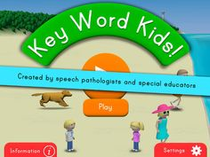 Best apps for special needs: Practice expressive and receptive language with Key Word Kids - Smart Apps For Kids Receptive Language, Best Ipad, Autism Awareness Month, Language Development, Special Needs, Special Education, Kids Smart, Apps, Key