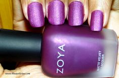 Be Beautilicious: On My Nails - Zoya Harlow