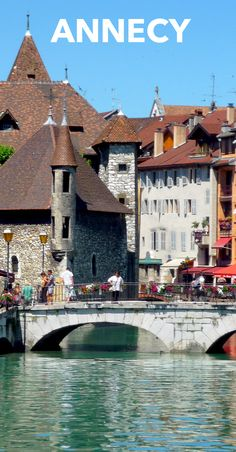 Discover Annecy, our new French home base in the French Alps! #Annecy #Ilakeannecy #hautesavoiexperience
