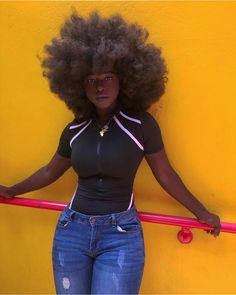 Black Girls Hairstyles, Afro Hairstyles, Simple Hairstyles, Black Power, Beauty Skin, Hair Beauty, Curly Hair Styles, Natural Hair Styles, Type 4 Hair