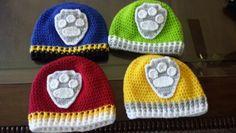 Paw patrol inspired hats..